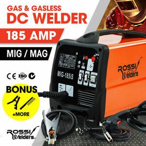 【EXTRA20%OFF】ROSSI 185 Amp Welding Machine Inverter Welder MIG MAG Gas