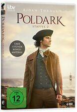 Poldark - Staffel 2 - Aidan Turner, Eleanor Tomlinson - 4 DVD Box