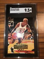 Michael Jordan 1995-96 Fleer Ultra Chicago Bulls #25 SGC 9.5 Mint+ LOW POP!
