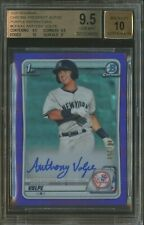 2020 Bowman Chrome Purple Refractor Anthony Volpe RC Rookie AUTO /250 BGS 9.5