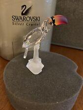 Swarovski Crystal figurines Toucan Bird