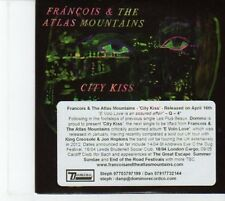 (DQ25) Francois & The Atlas Mountains, City Kiss - 2012 DJ CD