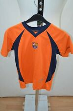 FC BARCELONE MAILLOT T SHIRT FOOT FOOTBALL JERSEY 12 ANS ORANGE
