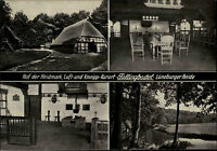 FALLINGBOSTEL alte Mehrbildkarte Hof der Heidmark Lüneburger Heide um 1950/60