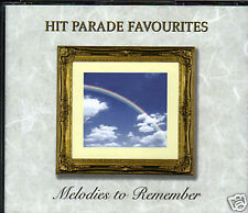 HIT PARADE FAVOURITES - MELODIES TO REMEMBER - 3CD SET - FREE POST IN UK