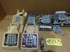 Assorted Telephone Dial Pad Base Systems-Parts Only