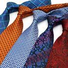 Luxury 8CM Mens tie New Designer Man Neck Ties Dots Plaids Jacquard Neckwear