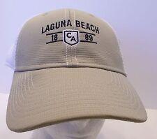 Laguna Beach Hat Cap Trucker California USA Embroidery Unisex New