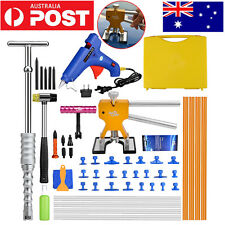 51pc PDR Tools BOX Dent Puller Lifter Paintless Hail Removal Repair Hammer Kits