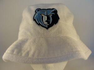 Memphis Grizzlies NBA Mitchell & Ness Bucket Hat Size S/M White