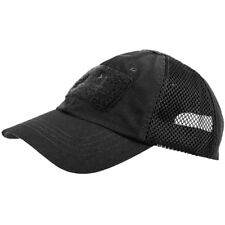 More details for helikon baseball vent cap army tactical men military airsoft ripstop hat black