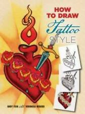 How to Draw Tattoo Style (Paperback or Softback)