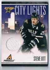 2010-11 PINNACLE CITY LIGHTS STEVE OTT JERSEY 1 COLOR 250/499 DALLAS STARS #21
