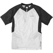 Madison Flux Capacity Men's Short Sleeved Jersey White / Phantom Large Cl82005