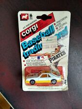 1982 CORGI #422 FORD MUSTANG PITTSBURGH PIRATES BASEBALL TRADING CAR