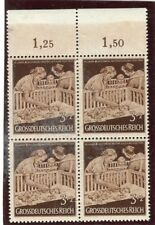 GERMANY;  1944 early Child Mother Welfare issue MINT MNH CORNER 3pf. BLOCK