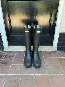 Hunter Balmoral Field 3mm Neoprene Wellington Boots - Mens UK Size 10, Black