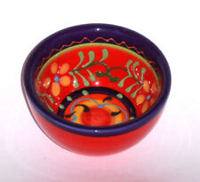 Spanish Ceramic Handpainted Round Bowl 7cm