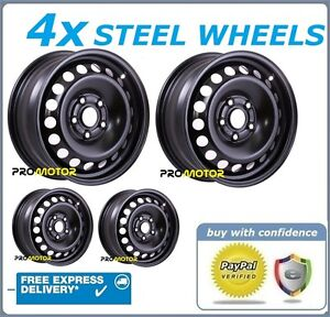 4 WINTER STEEL WHEELS RIMS COMPATIBLE WITH HONDA CIVIC (2006-PRESENT DAY)