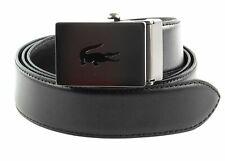 LACOSTE Men´s Elegance Belt W90 Gürtel Black Schwarz