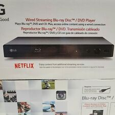 New listing New Lg Wired Streaming Blue-ray Disc Dvd Cd Player Bpm25 Black w/Remote Control