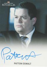 Patton Oswalt 2015 Rittenhouse Marvel Agents of Shield autograph auto card