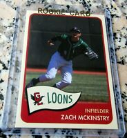 ZACH MCKINSTRY 2018 Choice SP Rookie Card RC Los Angeles Dodgers Loons $$ HOT $$