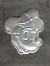 VINTAGE WILTON ALUMINUM MICKEY MOUSE BAND LEADER CAKE PAN OR MOLD
