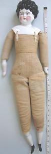 "28"" CHINA SHOULDER HEAD, ORIGINAL CLOTH BODY, CHINA BOOTS"