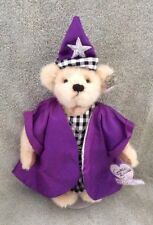 Annette Funicello Purple Wizard 10� Jointed Teddy Bear Mint Condition No Box