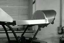 Cafe racer aluminum seat fabricated yo your seat pan dimensions