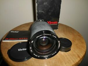 Scarce VIVITAR MACRO FOCUSING ZOOM 1:3.5-5.3/28-200mm Lens( Canon FD fit)