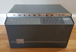 Vintage Mid Century Pollenex '99 Air Purifier Air Cleaner - Art Deco Chrome