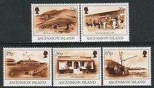 4088 - Ascension Island 1995 - Century Scenes - SG 643-646 - Mi.659/63 - MNH Set