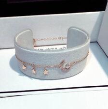 Celestial Bracelet Bangle Gold 18K Gold Plated Diamante Crystal