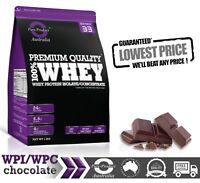 5KG -  WHEY PROTEIN ISOLATE / CONCENTRATE - CHOCOLATE -  WPI WPC POWDER