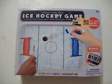 Create your own ICE HOCKEY GAME with real ICE!!! NEW!!! Table Top!!