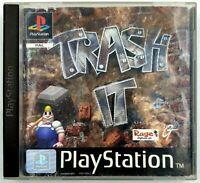 Trash it - Playstation / PS1 - Avec notice / sans jaquette arrière - PAL FR
