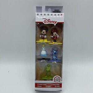 New Disney Nano Metalfigs 5 Pack Figure Collector Set Mickey Minnie Alice Kermit