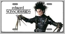 L@@K Edward Scissorhands Car Vanity Tag  License Plate Tim Burton Johnny Depp