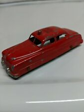 Tootsietoy Fire Chief Mercury 4 Door Red Made in USA