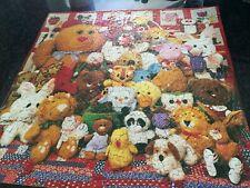 Vintage Jigsaw Puzzle Hallmark Springbok Cuddly Companions Over 500 Pieces