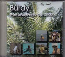 Burdy-Ik Heb Heimwee Naar Mijn Eiland Promo cd single