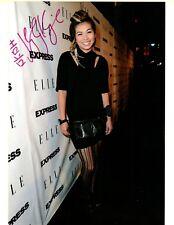 Hayley Kiyoko HAND SIGNED 8.5x11 Photograph! What I Need! Curious! Rare!