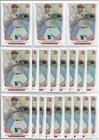 2014 Bowman Draft Jack Flaherty (20) Card Bulk Paper Rookie Lot Cardinals RC