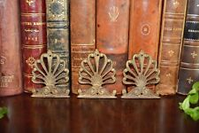 Antique French Set of 3 Bronze Palm Leaves Palmettes Furniture Trim Mounts