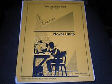 Book The Call of the Wild student Packet Novel Units Workbook Teach Resources
