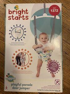 Bright Starts Playful Parade Door Jumper Item #1372 New in Box