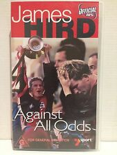 JAMES HIRD ~ AGAINST ALL ODDS ~ ESSENDON ~ OFFICIAL AFL VIDEO ~ RARE VHS VIDEO