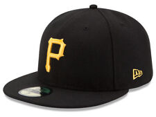 New Era Pittsburgh Pirates GAME 59Fifty Fitted Hat (Black) MLB Cap